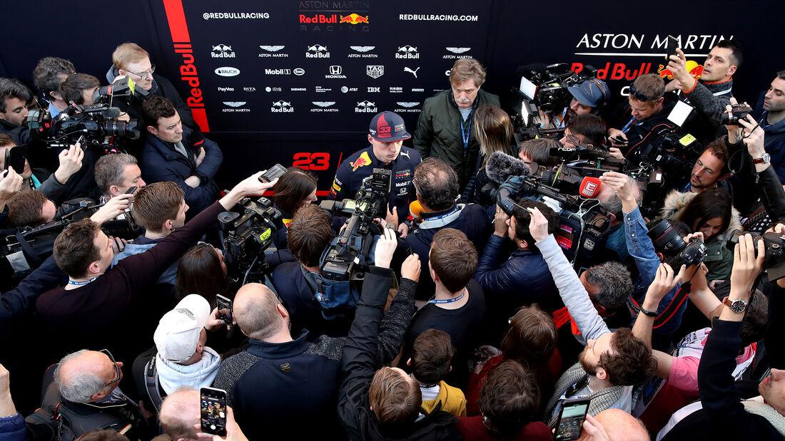 Max Verstappen - F1-Testfahrten - Barcelona - 2020