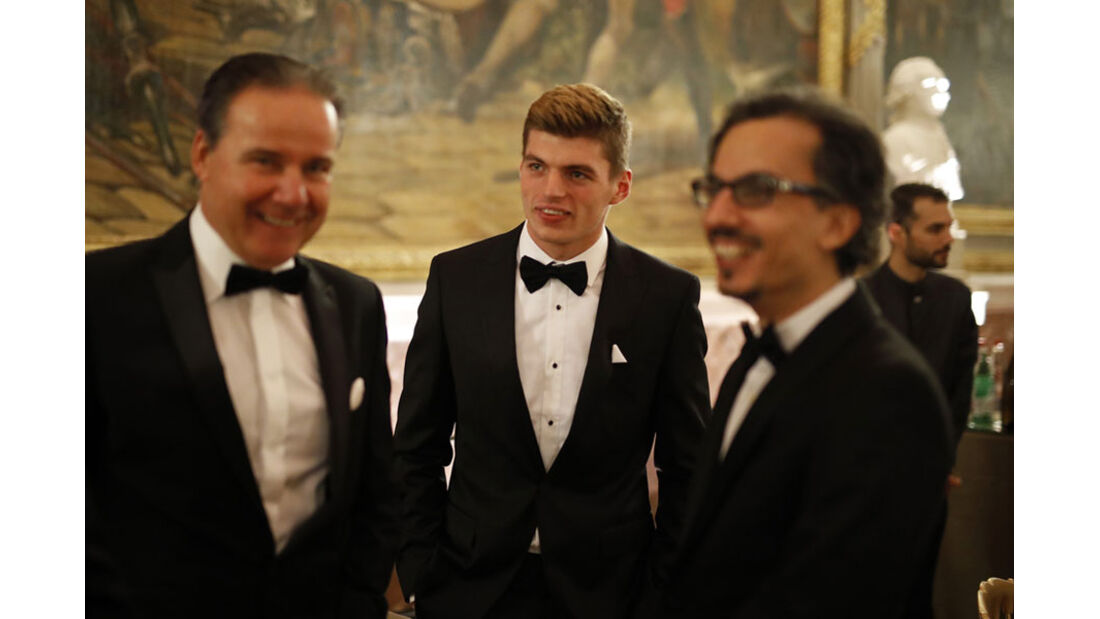 Max Verstappen - FIA Preisverleihung - Versailles