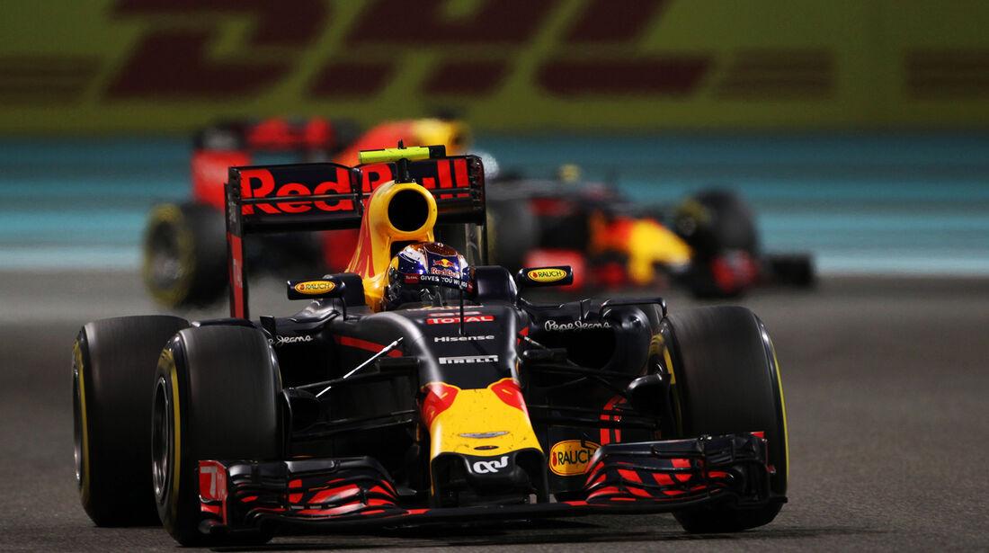 Max Verstappen - Formel 1 - GP Abu Dhabi 2016