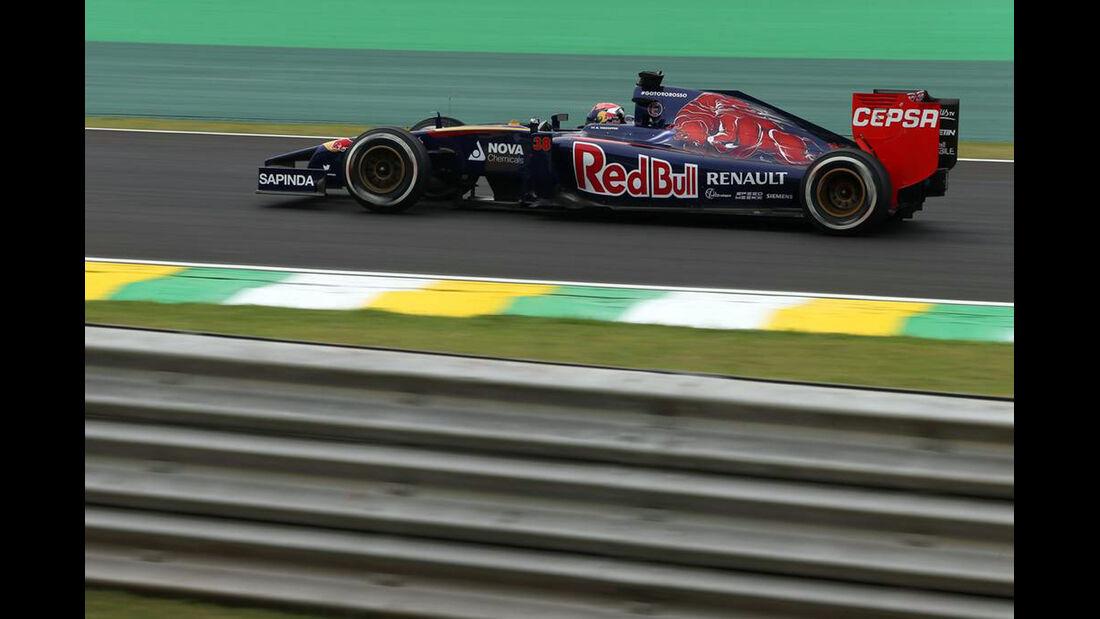 Max Verstappen - Formel 1 - GP Brasilien- 7. November 2014