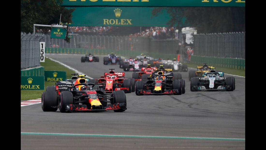 Max Verstappen - Formel 1 - GP Mexiko 2018