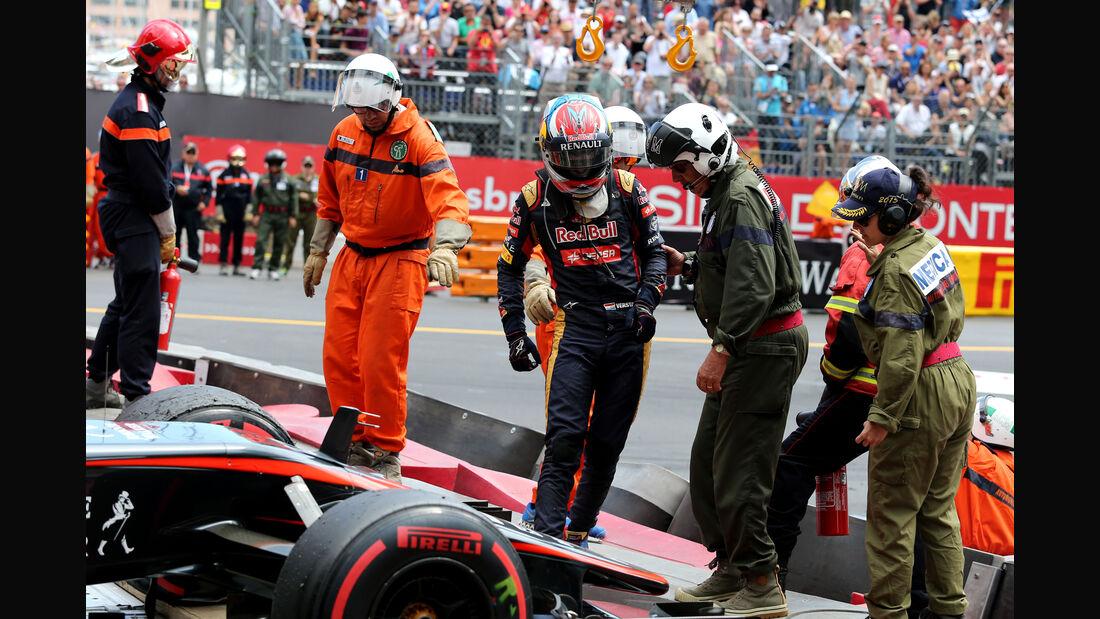 Max Verstappen  - Formel 1 - GP Monaco - Sonntag - 24. Mai 2015