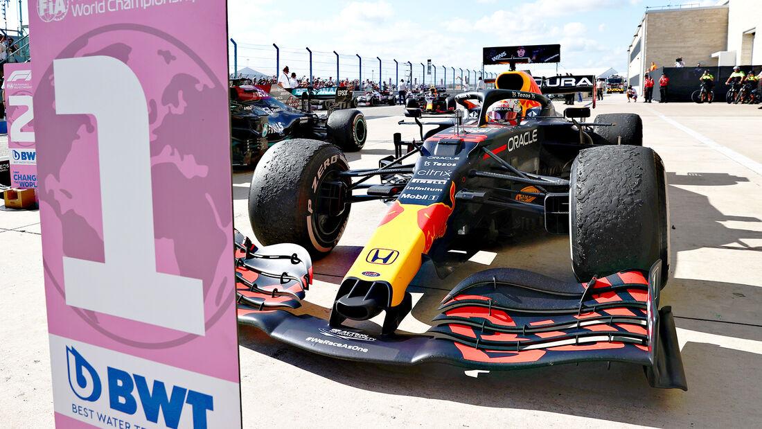 Max Verstappen - Formel 1 - GP USA 2021