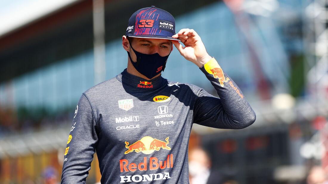Max Verstappen - Formel 1 - Silverstone - GP England 2021