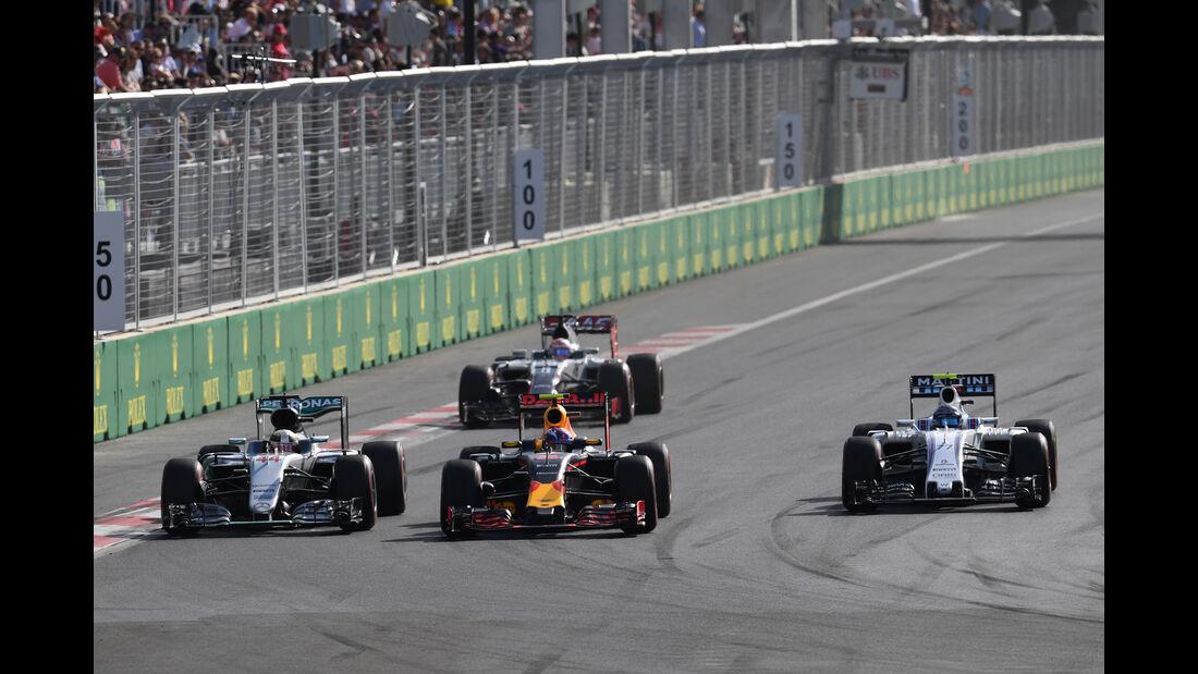 Max Verstappen - GP Aserbaidschan - Formel 1 - 2016