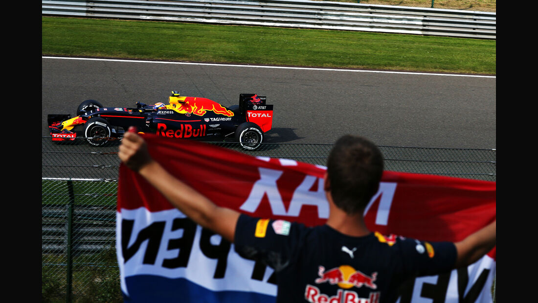Max Verstappen - GP Belgien 2016