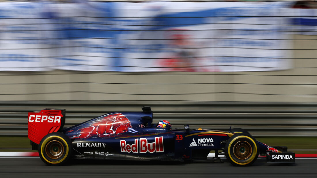 Max Verstappen - GP China 2015