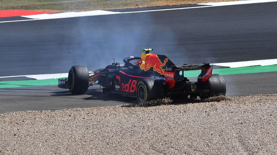 Max Verstappen - GP England 2018