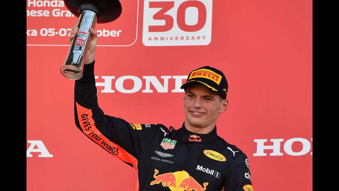 Max Verstappen - GP Japan 2018