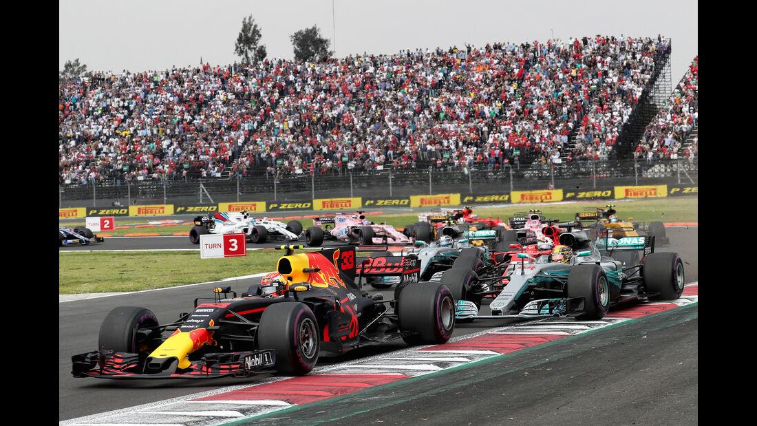 Formel 1 Mexiko Start