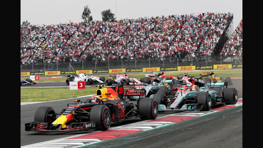 Max Verstappen - GP Mexiko 2017