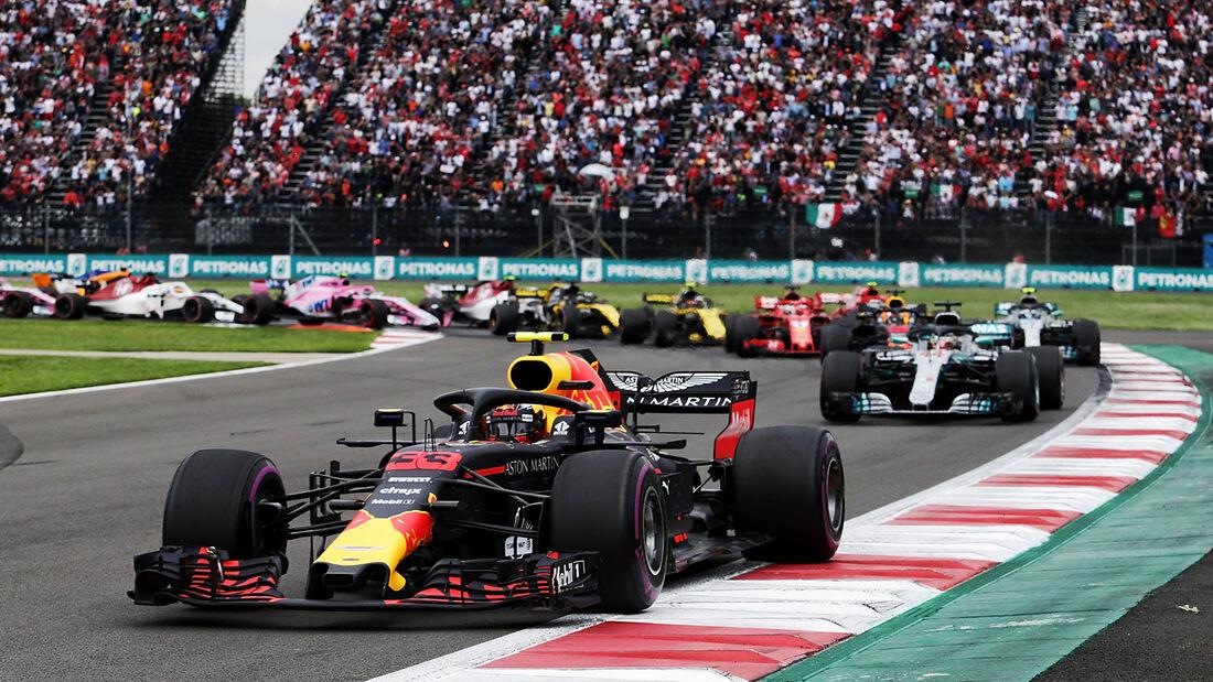 Max Verstappen - GP Mexiko - 2018