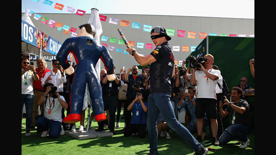 Max Verstappen - GP Mexiko 2018