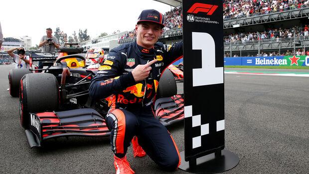 Max Verstappen - GP Mexiko 2019