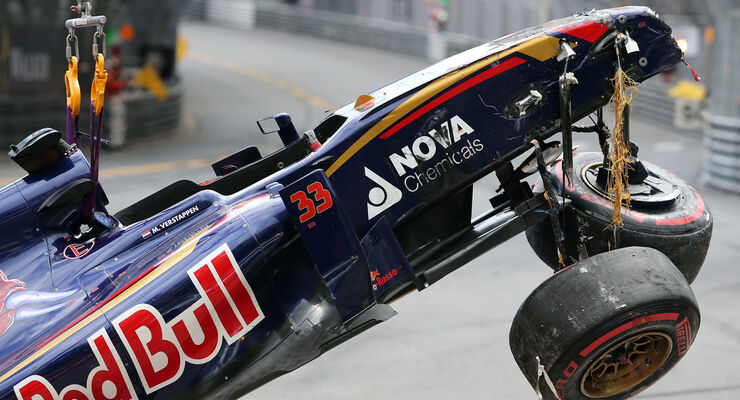 Max Verstappen - GP Monaco - Formel 1 - 24. Mai 2015