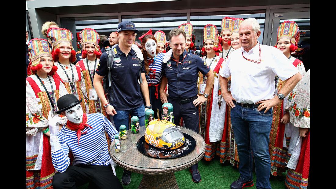 Max Verstappen - GP Russland 2018