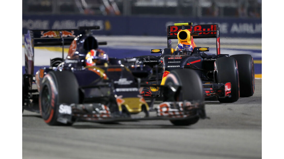 Max Verstappen - GP Singapur 2016