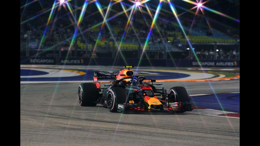 Max Verstappen - GP Singapur 2018