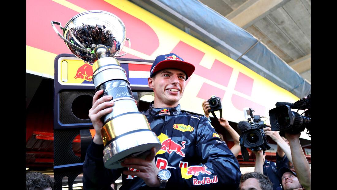 Max Verstappen - GP Spanien 2016