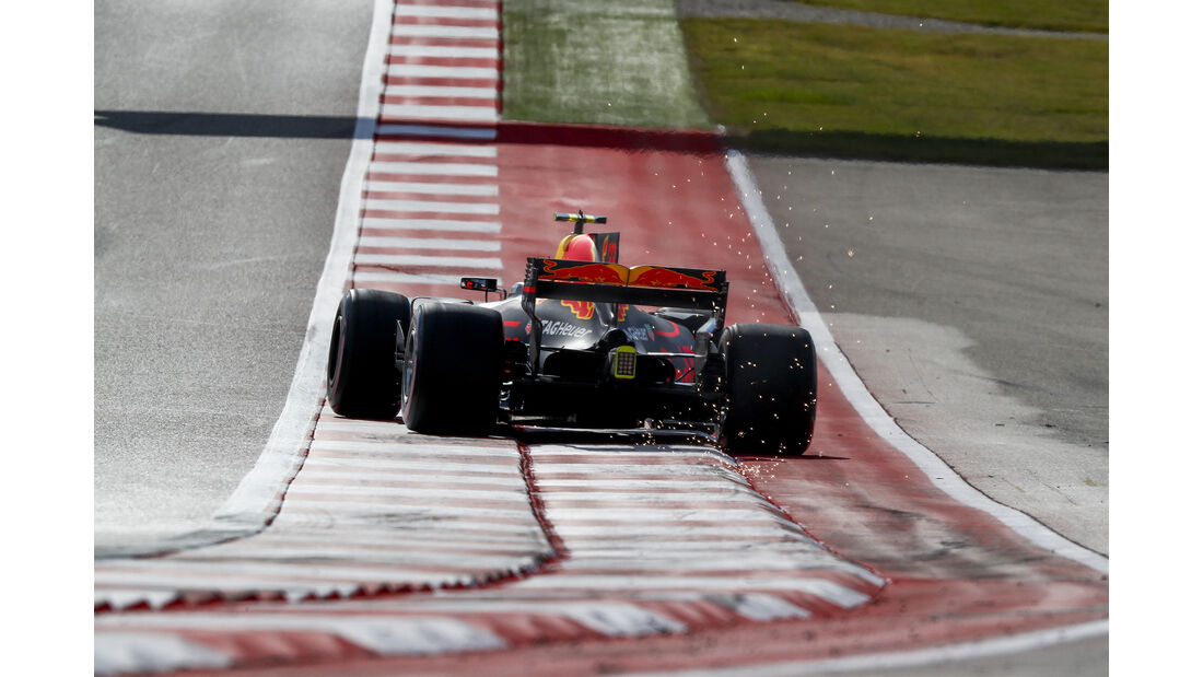 Max Verstappen - GP USA 2017
