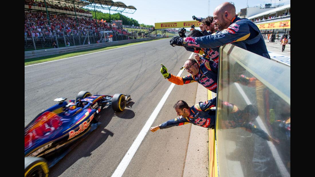 Max Verstappen - GP Ungarn 2015
