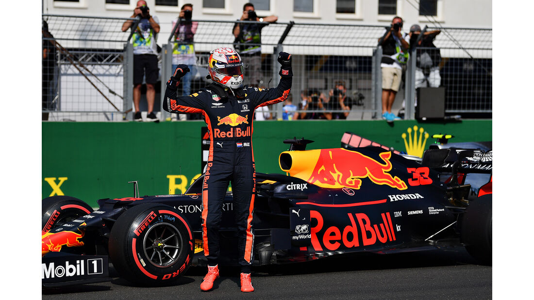 Max Verstappen - GP Ungarn 2019