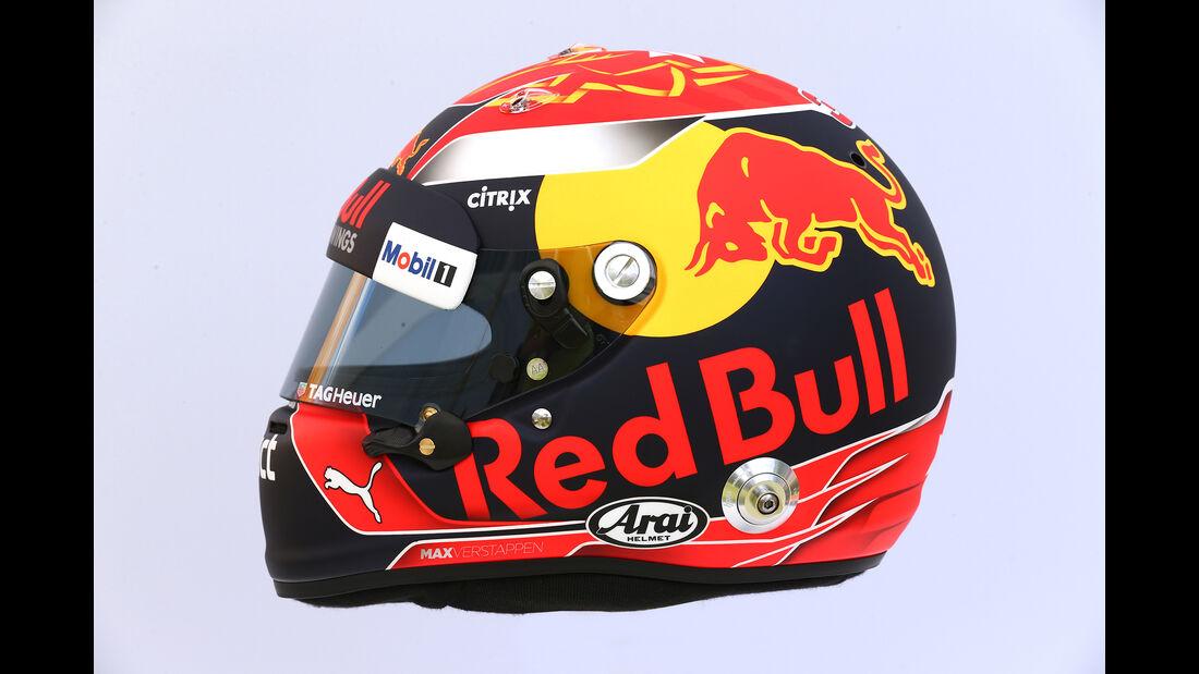 Max Verstappen - Helm - Formel 1 - 2017