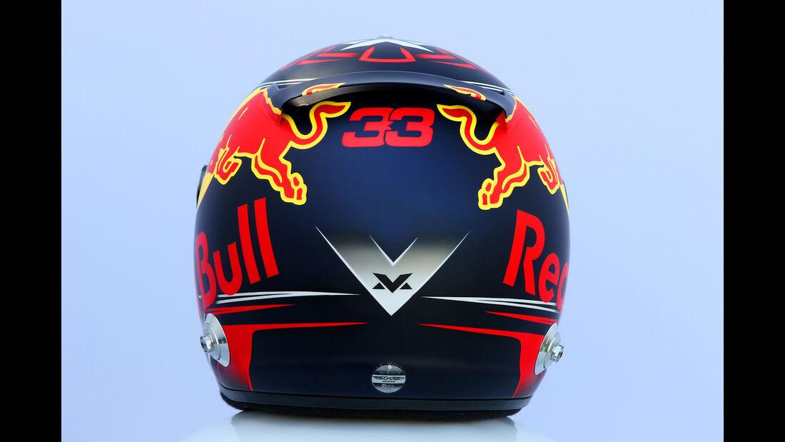 Max Verstappen - Helm - Formel 1 - 2018