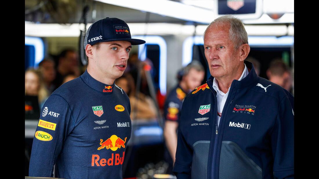 Max Verstappen - Helmut Marko - Red Bull