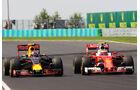 Max Verstappen - Kimi Räikkönen - Formel 1 - GP Ungarn - 24. Juli 2016
