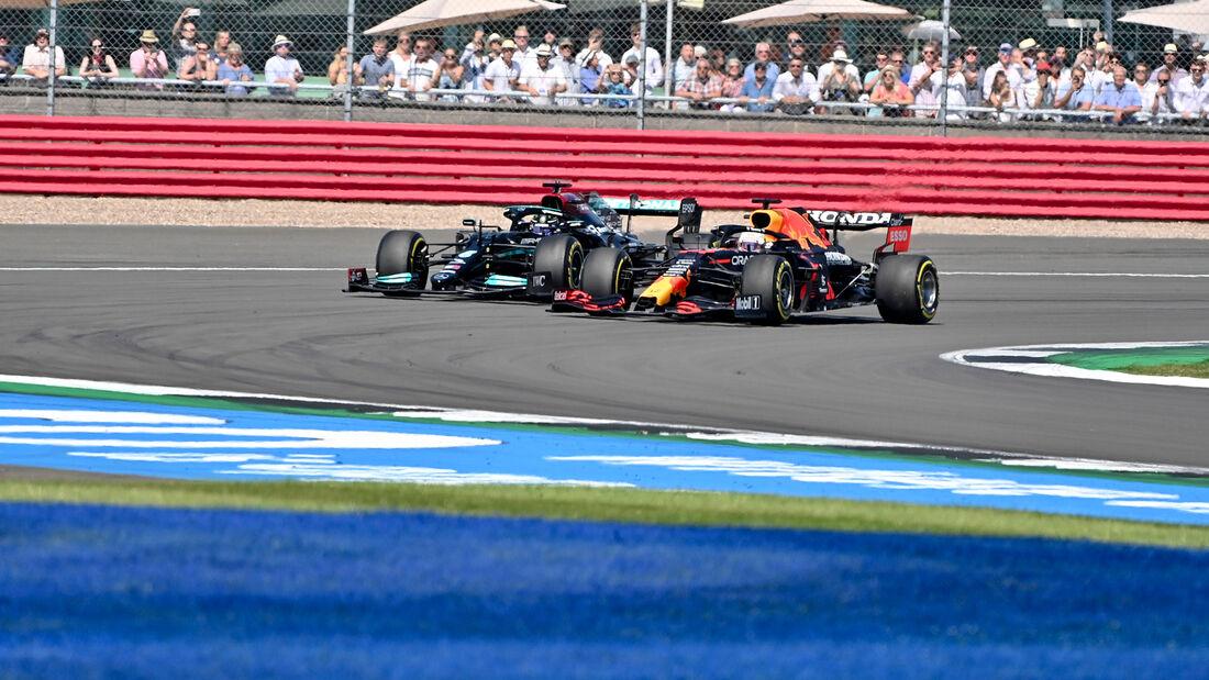 Max Verstappen - Lewis Hamilton - GP England 2021 - Silverstone