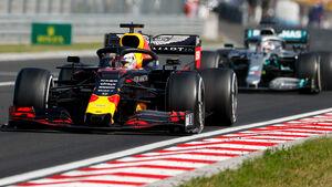 Max Verstappen - Lewis Hamilton - GP Ungarn 2019