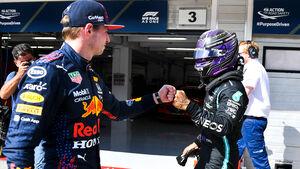Max Verstappen - Lewis Hamilton - GP Ungarn 2021 - Budapest