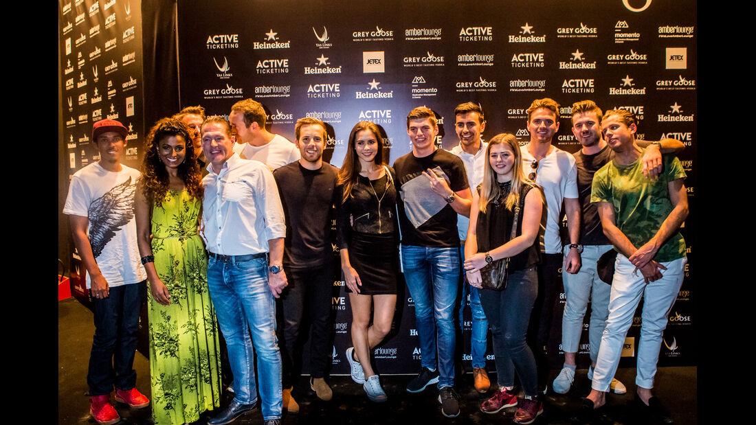Max Verstappen - Party Abu Dhabi - Amber Lounge 2016