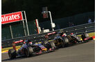Max Verstappen & Pastor Maldonado - Formel 1 - GP Belgien - Spa-Francorchamps - 21. August 2015