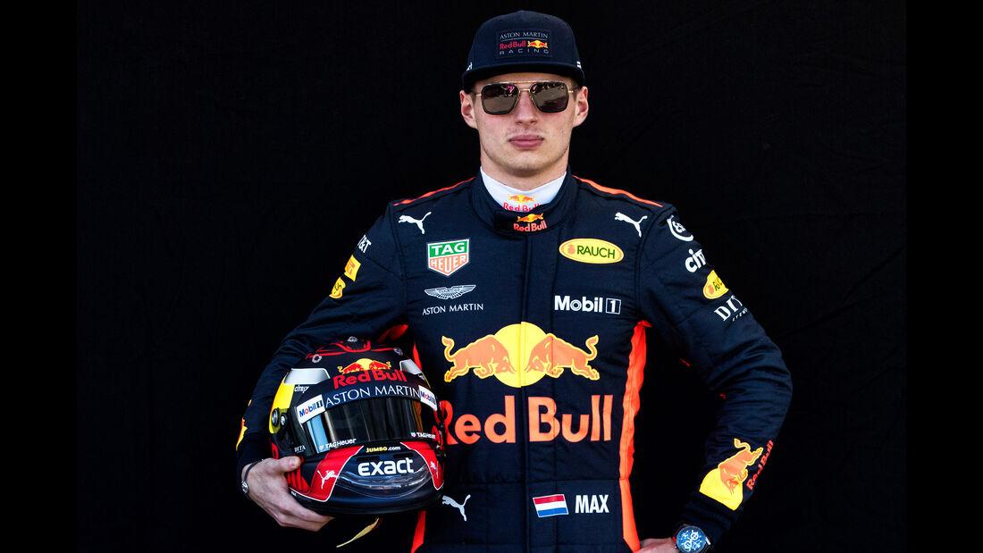 Max Verstappen - Porträt - Formel 1 - 2018