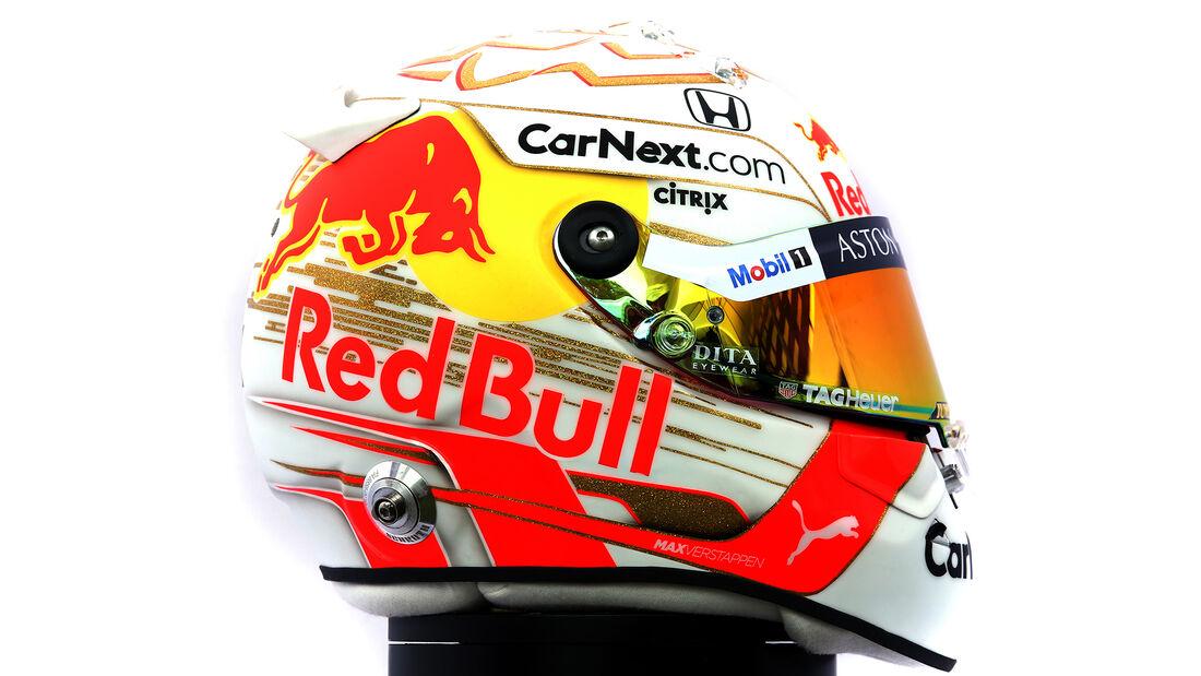 Max Verstappen - Porträt & Helm - Formel 1 - 2020