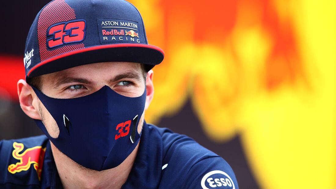 Max Verstappen - Red Bull - 70 Jahre F1 GP - Silverstone - Formel 1 - 6. August 2020