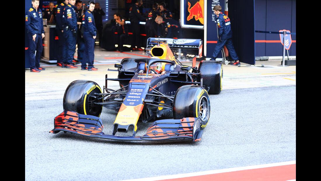 Max Verstappen - Red Bull - Barcelona - F1-Test - 01. März 2019