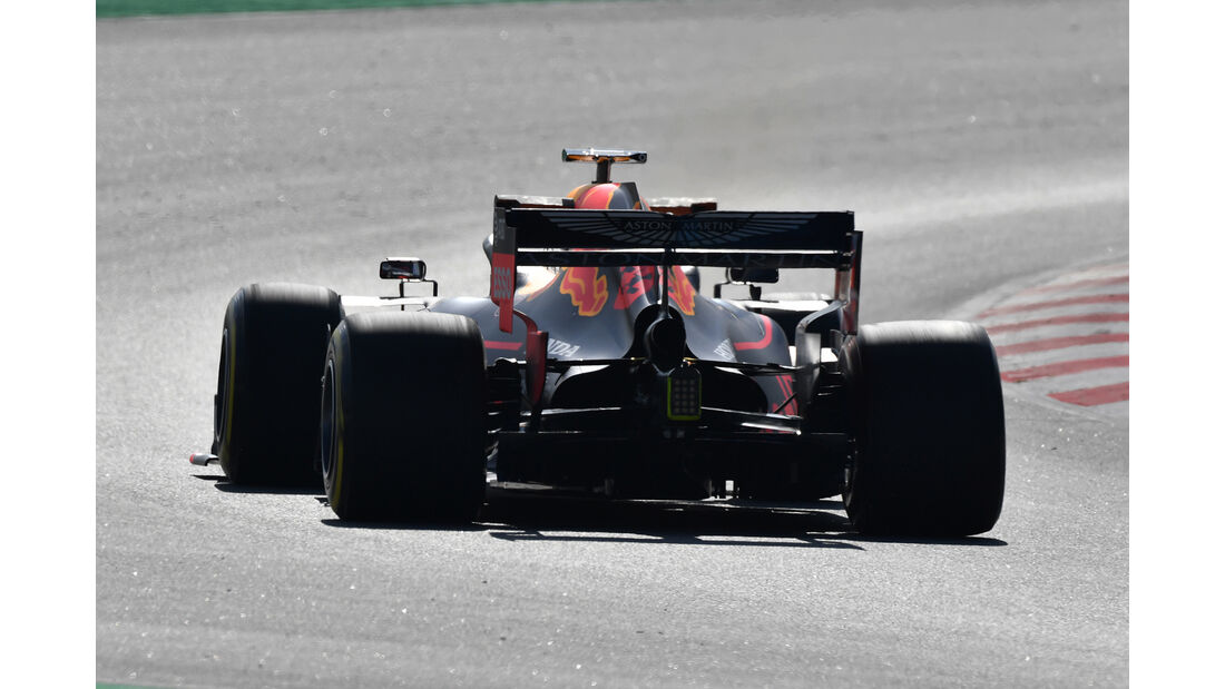 Max Verstappen - Red Bull - Barcelona - F1-Test - 18. Februar 2019
