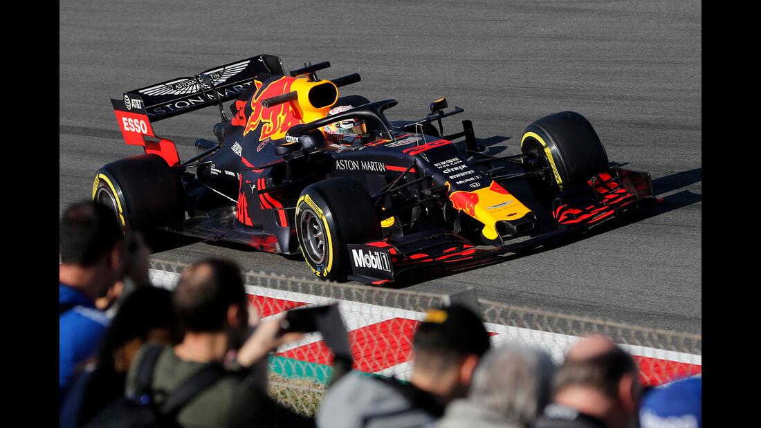Max Verstappen - Red Bull - Barcelona - F1-Test - 27. Februar 2019