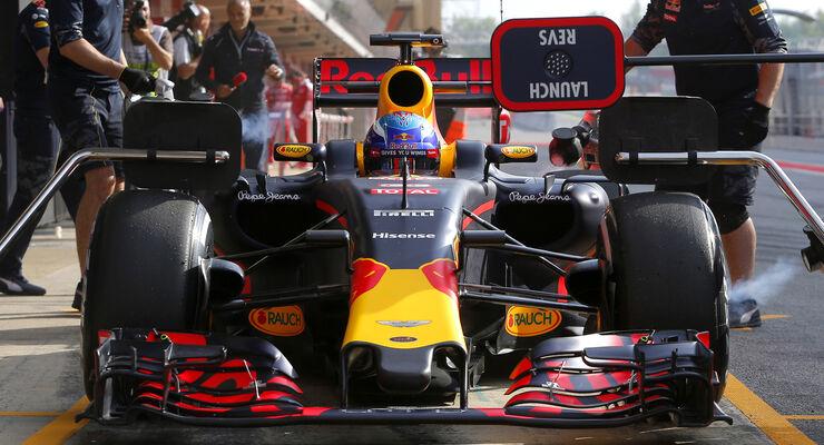 Max Verstappen - Red Bull - Barcelona Test 2 - 18. Mai 2016