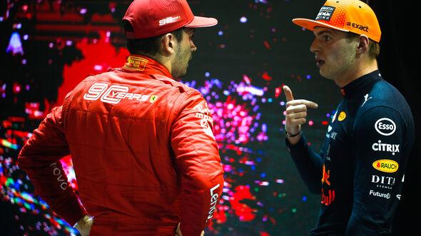 Max Verstappen - Red Bull - Charles Leclerc - Ferrari - GP Singapur 2019