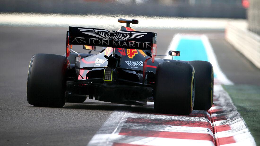 Max Verstappen - Red Bull - F1-Test - Abu Dhabi - 3. Dezember 2019