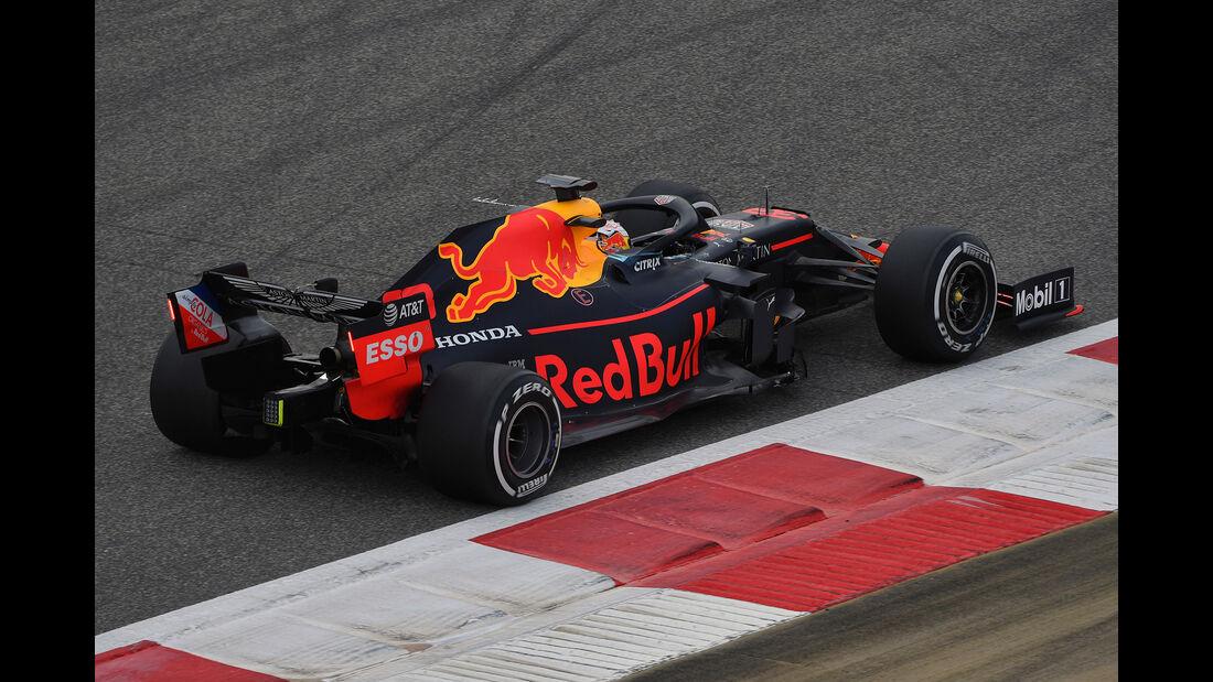 Max Verstappen - Red Bull - F1-Test - Bahrain - 2. April 2019
