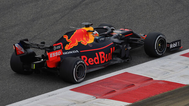 Max Verstappen - Red Bull - F1-Test - Bahrain - 2. April 2019