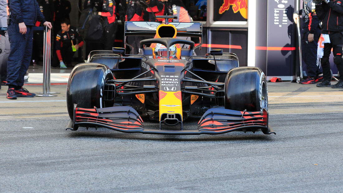 Max Verstappen - Red Bull - F1-Test - Barcelona - 19. Februar 2020