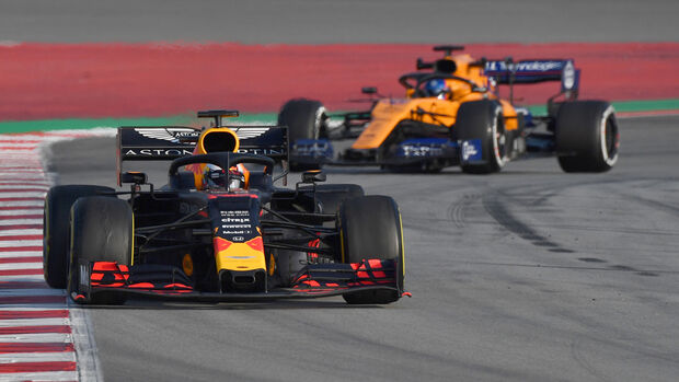Max Verstappen - Red Bull - F1-Test - Barcelona - 2019