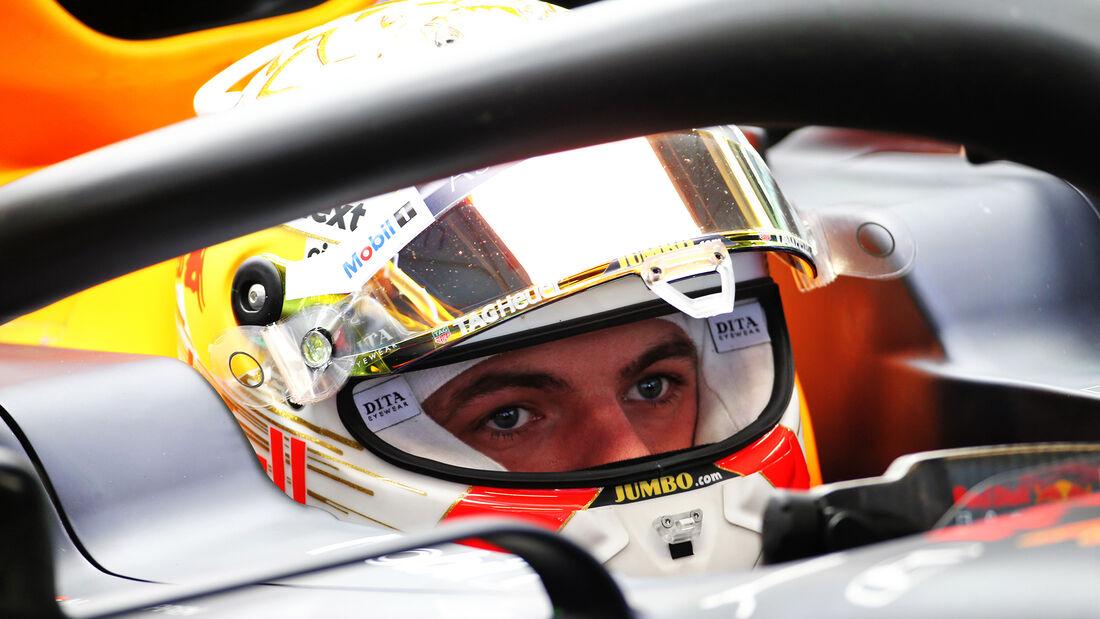 Max Verstappen - Red Bull - F1-Test - Barcelona - 21. Februar 2020