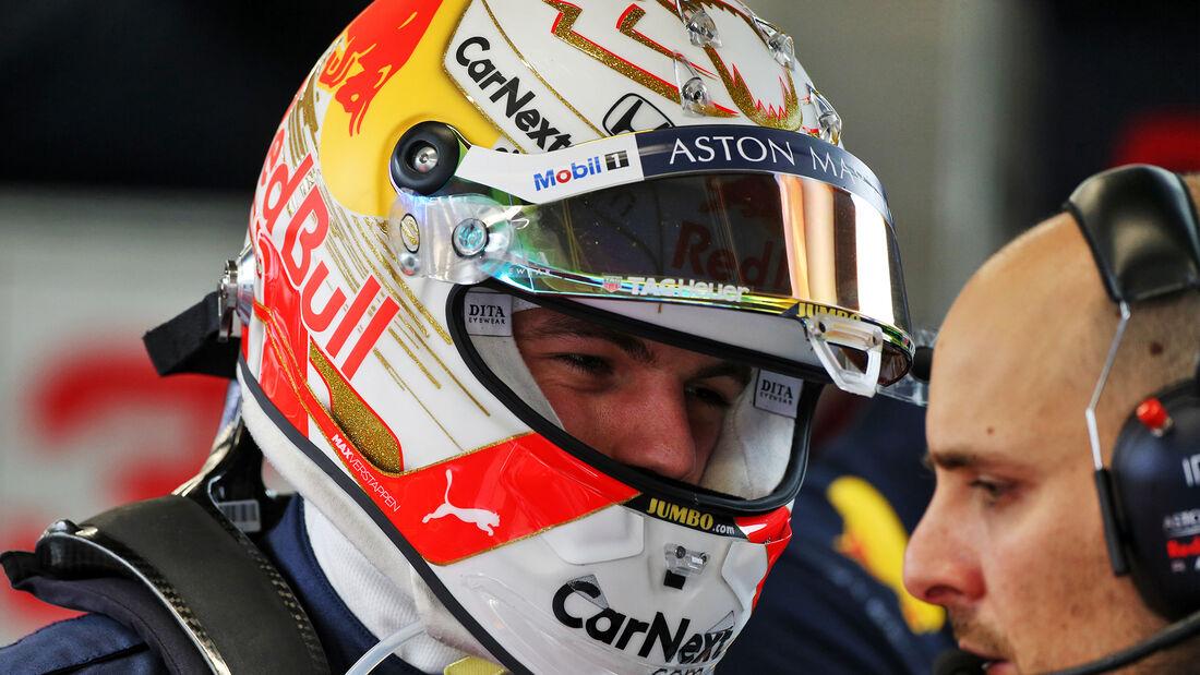 Max Verstappen - Red Bull - F1-Test - Barcelona - 28. Februar 2020